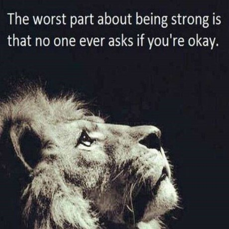 the strong lion