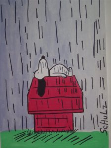 Snoopy_in_a_Rainstorm_by_DewCrystal