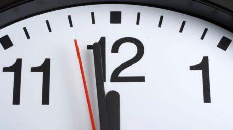 clock b4 midnight